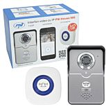 Interfon video cu IP PNI House 900 wireless P2P card si vizualizare pe Smartphone cu Android sau IOS