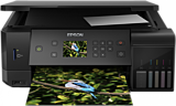 Multifunctional color Epson EcoTank L7160, Inkjet, Duplex, A4, Wireless