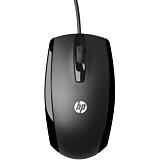 Mouse cu fir HP X500, USB, Negru