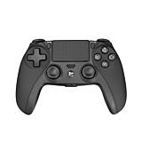 Controller PS4 White Shark GPW-4003, Negru