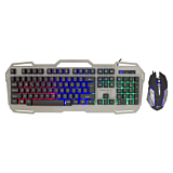 Set Tastatura + mouse White Shark GMK-1901 APACHE-2 US