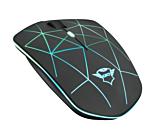 Mouse gaming wireless Trust GXT 117 Strike, 1400 DPI, iluminare RGB, Negru