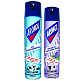 Pachet: Insecticid universal Aroxol 400ml+ Spray anti-molii si anti-acarieni Aroxol Lavanda 250ml