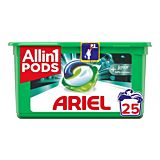 Detergent automat capsule Ariel All in One PODS Plus Unstoppables, 25 spalari