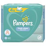 Servetele umede Pampers Fresh Clean, 4 x 52 buc