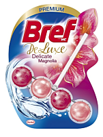 Odorizant toaleta Bref DeLuxe Magnolia, 50g
