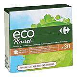Detergent tablete pentru spalarea vaselor, Carrefour Eco Planet, 30 bucati