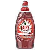 Detergent de vase cu fructe de padure rosii, Fairy Extra, 900 ml