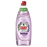 Detergent de vase Fairy Pure and Naturals Lavanda si Rozmarin, 650 ml