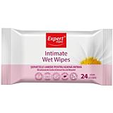 Servetele umede pentru igiena intima Expert Wipes 24 bucati