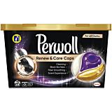 Detergent automat capsule, Perwoll Renew&Care Black, 18 bucati