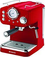 Espressor manual Vortex SVO4016, 1.25 Litri, 1100 W, 15 bar, Rosu