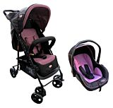 Sistem 2-in-1 Carucior si scaun auto Primii Pasi, purple