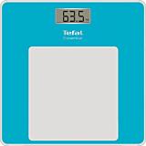 Cantar de baie Tefal PP1303V0, 150 maxim, ecran LCD, Albastru