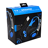 Casti Gioteck TX30 PS4 Megapack Headset + Grips + USB Charging Cable