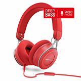 Casti audio over ear Energy Sistem Urban 3 ENS446902, Bluetooth, Microfon, Rosu