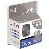 Set 2 x blue xenon optik h4 AEG