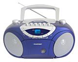 Microsistem audio Boombox BB15BL, 4 W, CD, Casetofon, USB, AUX, Albastru
