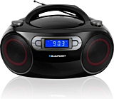 Microsistem audio Boombox BB18BK, 4 W,  FM, CD, USB, AUX, Negru