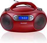 Microsistem audio Boombox BB18RD, 4 W,  FM, CD, USB, AUX, Rosu