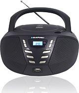 Microsistem audio Boombox BB7BK, 2.4 W, FM, CD, USB, AUX, Negru