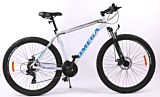 "Bicicleta Omega Rowan 29"", alb-albastru"