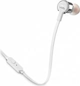 Casti in ear JBL 210, microfon, Gri