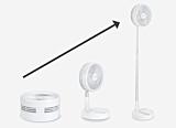 Ventilator portabil Rovus, alimentare USB, acumulator 3600 mAh, autonomie 10 ore