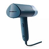 Aparat de calcat vertical Philips STH3000/20, 1000 W, 20 g/min, compact si pliabil, rezervor detasabil 100 ml, husa, Albastru