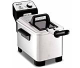 Friteuza semi profesionala Tefal Easy Pro FR338070, 3 Litri, 2200 W, Termostat reglabil, Argintiu