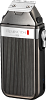 Aparat de tuns barba si parul Remington Heritage MB9100, 8 accesorii, acumulator, Argintiu