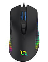 Mouse Aqirys Phoenix, 12000 DPI, optic, USB cu fir, Negru