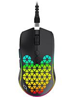 Mouse Aqirys Polaris, ultrausor 73g, wireless 2.4GHz, FastCharge, USB-C, Negru