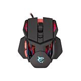 Mouse gaming White Shark GM-9002 Lancelot, iluminare RGB,  Negru