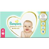 Scutece Pampers Premium Care Mega Box Marimea 4, 9-14 kg, 104 buc