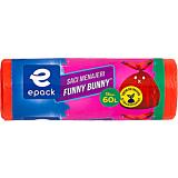 Saci menajeri 60l Funny Bunny Epack 15buc