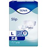 Scutece deschise incontinenta adulti Tena Slip Plus ConfioAir, Unisex, L, 10 buc