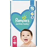 Scutece Pampers Active Baby Maxi Pack, Marimea 4+, 10-15kg, 58 bucati