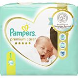 Scutece Pampers Premium Care Marimea 1, Nou Nascut, 2-5 kg, 26 buc