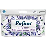 Hartie igienica parfumata, Pufina Lux Campuri de lavanda, 3straturi, 8role