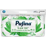 Hartie igienica parfumata, Pufina Lux Prospetime de Aloe Vera, 3straturi, 8role