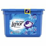 Detergent automat capsule Lenor All in One PODSpring Awakening, 15 spalari