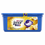Detergent automat capsule Lenor All in One PODGold Orchid, 28 spalari