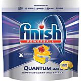 Detergent vase pentru masina de spalat, Finish Quantum Lamaie, 36 tablete