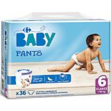 Scutece chilotei Carrefour Baby Pants, nr.6, +16kg, 36 bucati