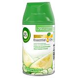 Rezerva odorizant de camera freshmatic spray, Air Wick Castravete&Pepene galben, 250 ml