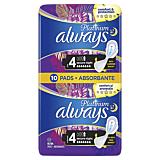 Absorbante Always Platinum Secure Night, 10 bucati