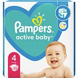 Scutece Pampers Active Baby Marimea 4, 9-14 kg, 25 buc