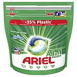 Detergent capsule, Ariel All in One PODS Mountain Spring, 45 spalari, 45 bucati