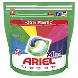 Detergent capsule, Ariel All in One PODS Color, 45 spalari,  45 bucati